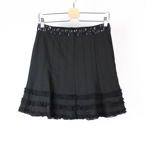 Barami Skirt Stretch Lace Accents Canada Z41